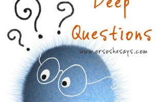 Deep Questions to Ask Your Lover www.orsoshesays.com