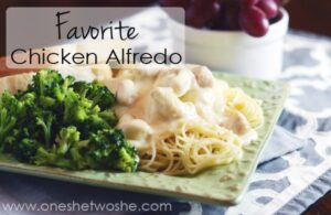 Chicken Alfredo ~ My Husband is Obsessed!