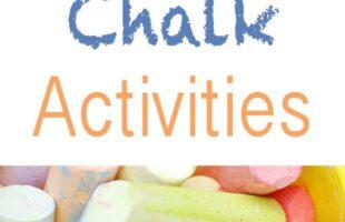 10 Sidewalk Chalk Activities