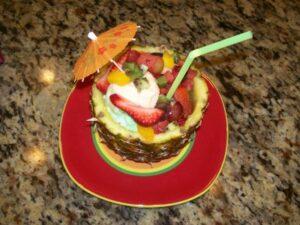 Tropical Passion Dessert (she: Karen)