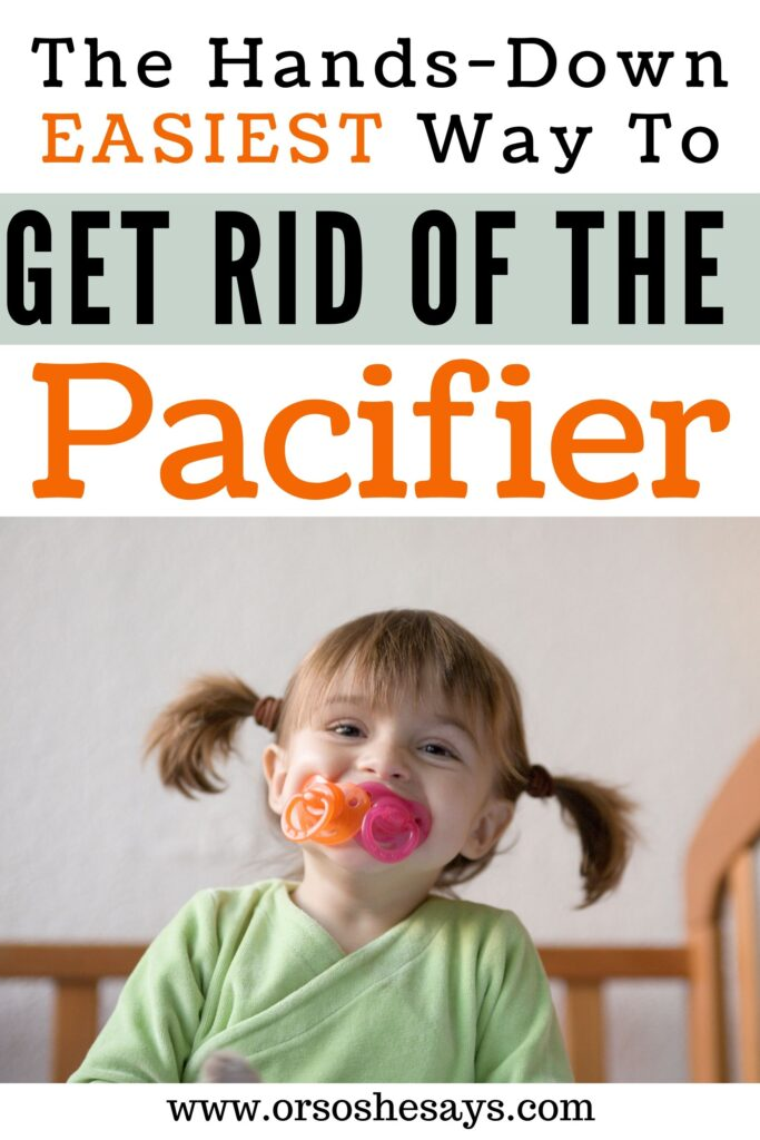 Toddler Pacifier