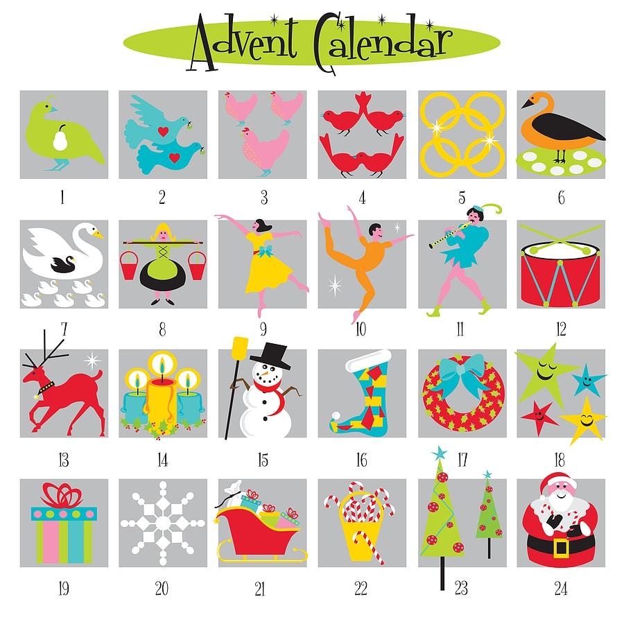 Advent Calendar Activity Ideas - Celebrate Christmas All Month Long!