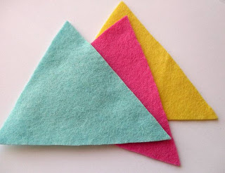 Felt Bunting Craft Tutorial (she: Lupin)