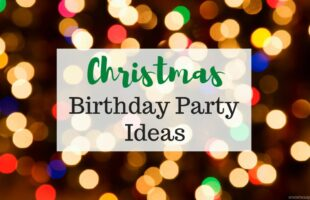Christmas Birthday Party Ideas ~ www.orsoshesays.com #christmas #birthday #partyideas #gingerbread