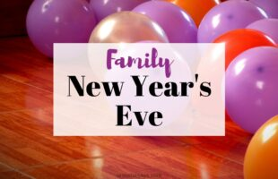 Celebrating New Year's Eve as a family on www.orsoshesays.com #newyearseve #newyear #newyears #familynight #familyfun #parties