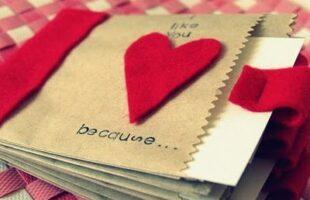 Valentine's Paper Bag Album www.oneshetwoshe.com