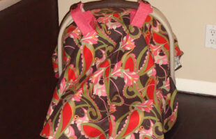 DIY Car Seat Cover ~ A Craft for the Un-Crafty (she: Jessica)