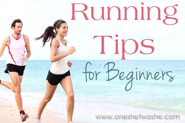 Running Tips for Beginners ~ www.oneshetwoshe.com