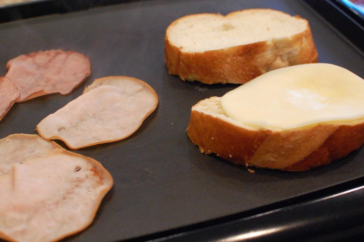 Ham Slice In Electric Fry Pan