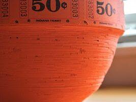 Popcorn Ticket Roll Bowl Tutorial