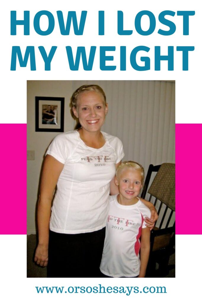 weight loss story of a mother