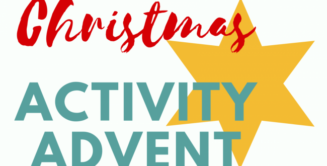 Christmas Activity Advent ~ Celebrate All Month Long!