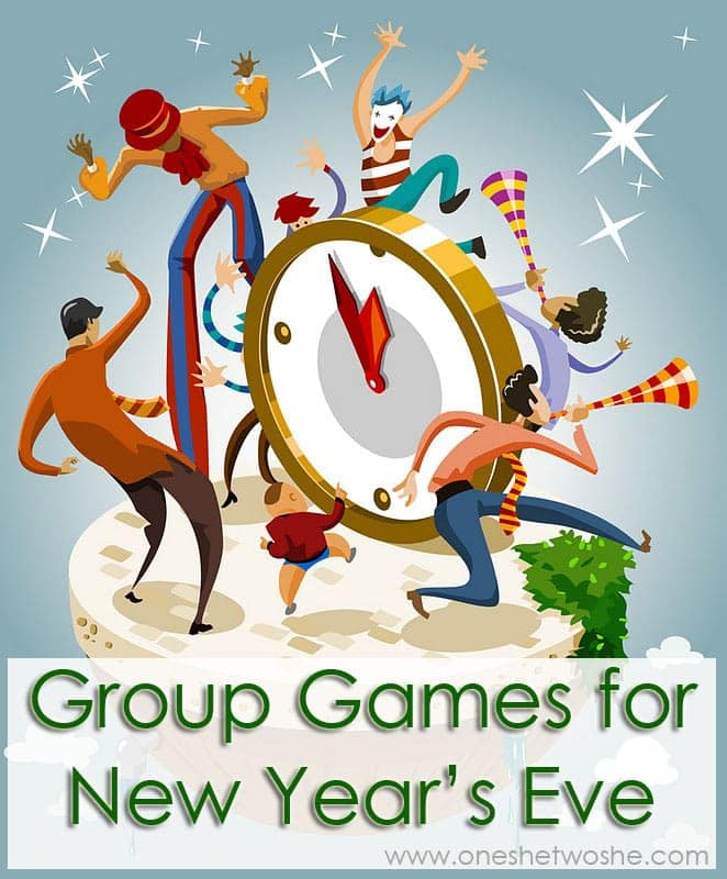 group games for new year's eve