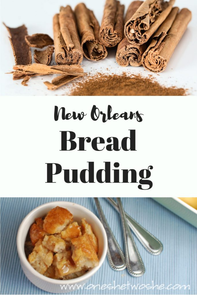 Two great recipes for Christmas ~ baked potato soup and New Orleans bread pudding plus some fun Christmas traditions! #recipes #christmas #bakedpotatosoup #breadpudding #caramel sauce #traditions
