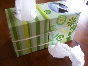 Tissue Trick ~ Great for Cold & Flu Season! (she: Maria)