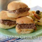"Copycat White Castle Burgers ~ Caden's Latest ""Picky Eater"" Recipe!"