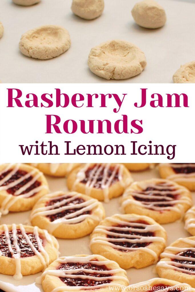 raspberry jam cookies