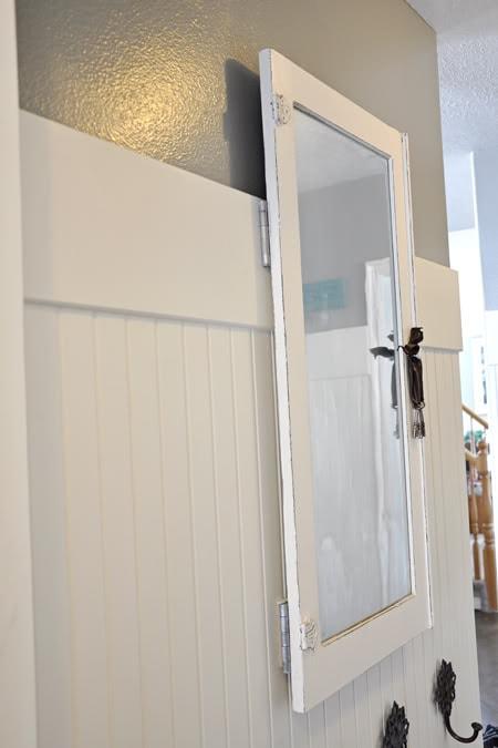 antique window turned power panel cover she natalie. Black Bedroom Furniture Sets. Home Design Ideas