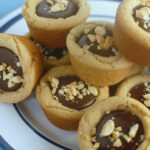 Peanut Butter & Chocolate Puddle Cups