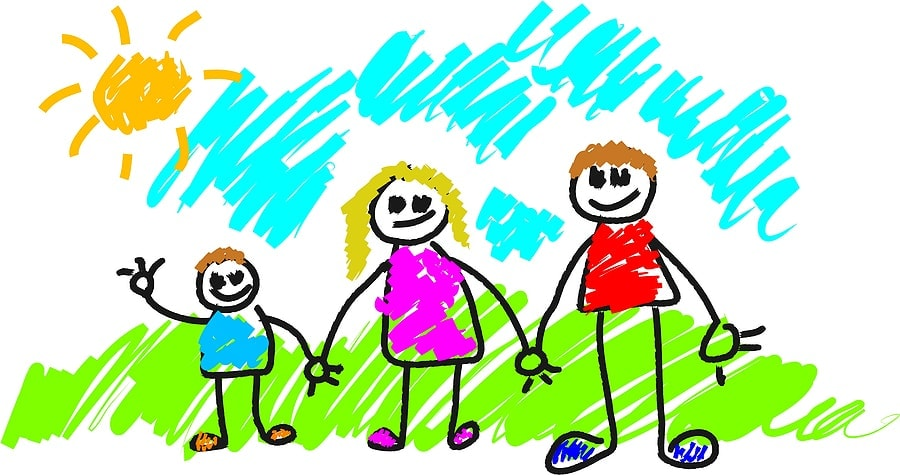 ... cartoon families cartoon families cartoon big cartoon family with
