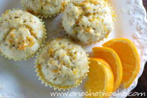 Summer Muffins ~ (…orange, banana, & poppy seed…)