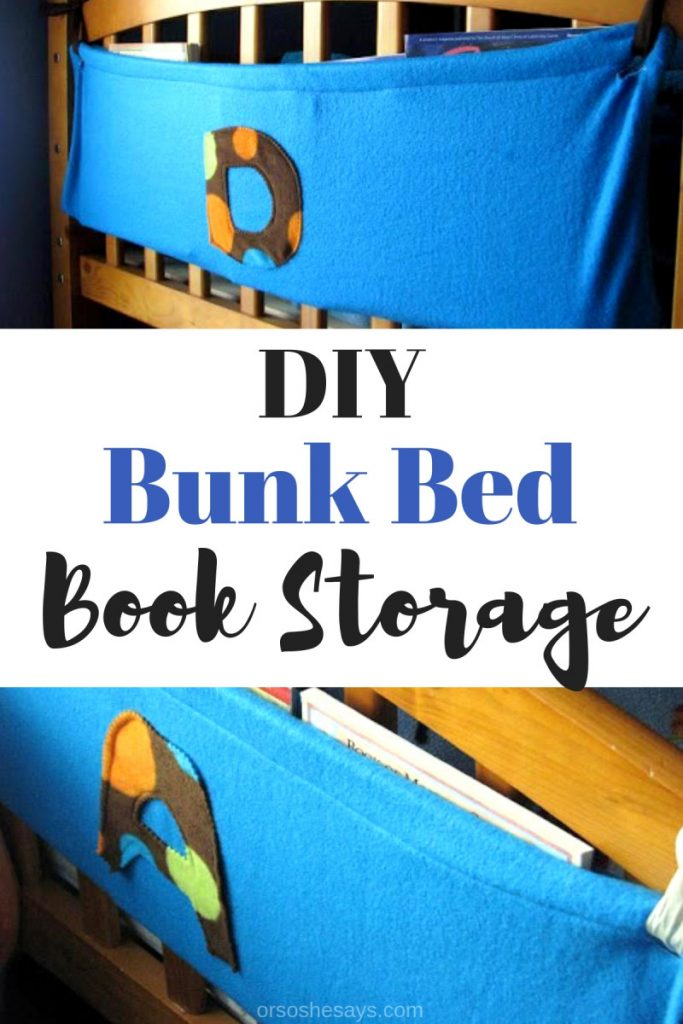 I thought that my kids might like to each have a space to keep their nightly books. We keep the bookcase down stairs, so we needed something that could ofer book storage by the beds. Get my easy DIY on the blog today: www.orsoshesays #books #reading #storage #DIY #bookstorage #organization #bedtime