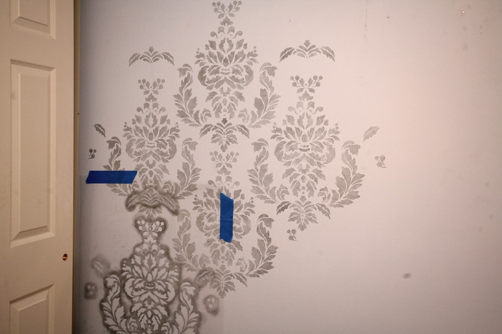 Stenciling Your Walls She Erin Or So She Says