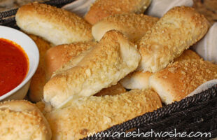 Cheese Stuffed Breadsticks ~