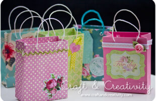 Fold Your Own Gift Bag! (she: Helena)