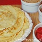 My Favorite Crepes ~ Perfect Valentine's Day Breakfast! www.orsoshesays.com