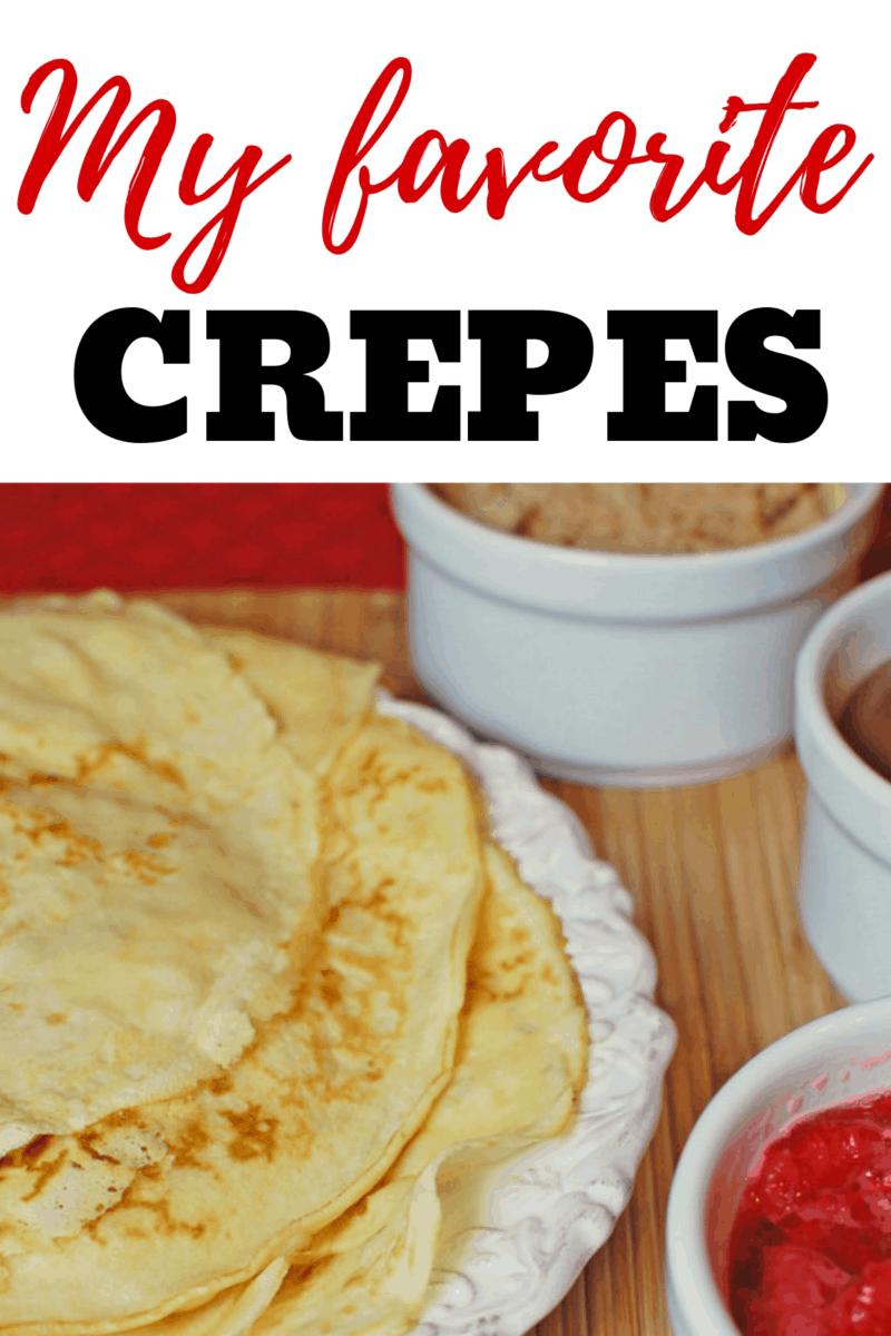 delicious crepes