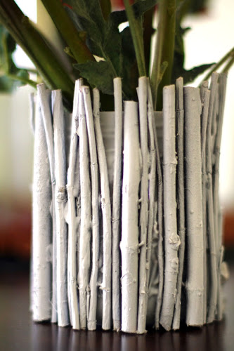 Painted Twig Vases She Trish Or So She Says