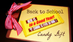 Back to School Candy Bar Printable (she: Natalie)