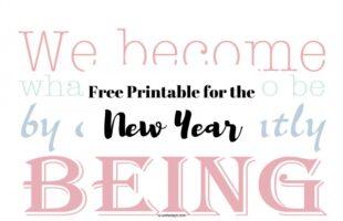 New Year printable on orsoshesays.com #newyear #happynewyear #newyearsresolution #qotd