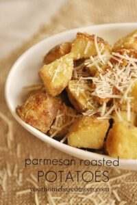 Parmesan Roasted Potatoes (she: Leigh Anne)