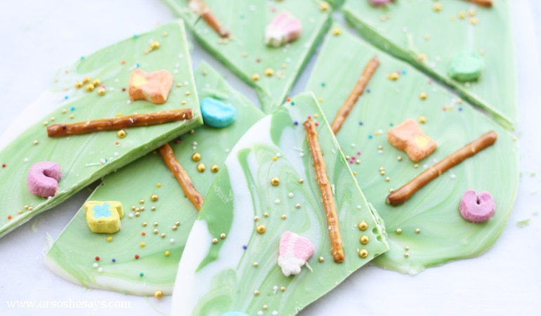 Leprechaun Bark ~ St. Patrick's Day