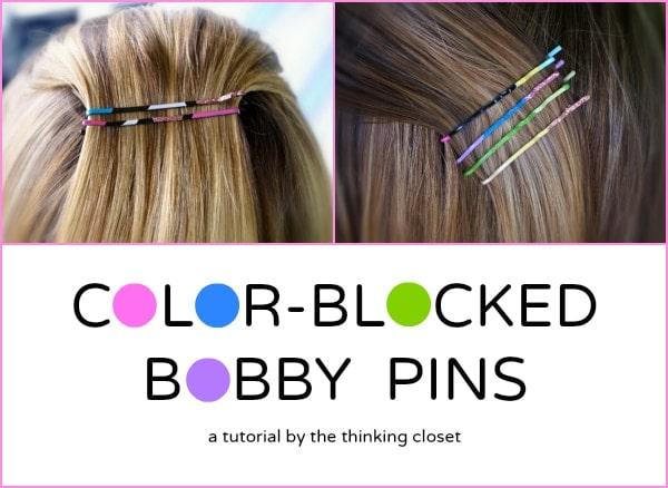 ColorBlockedBobbyPin-Hair