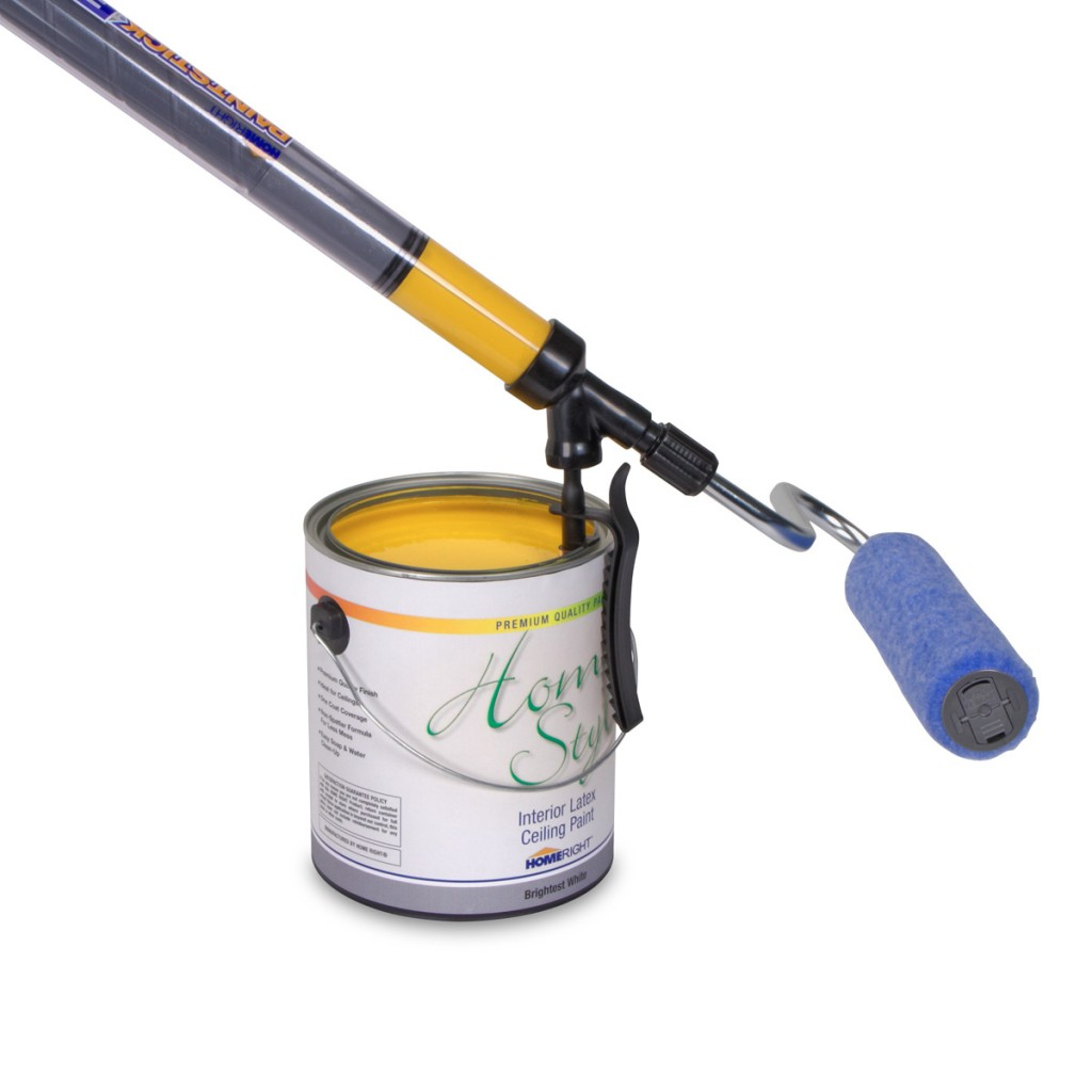 HomeRight PaintStick EZ-Twist holds paint in the handle