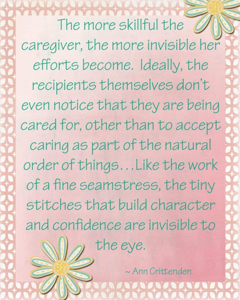 Motherhood printable quote