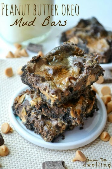 Peanut Butter Oreo Mud Bars 1