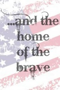 home of the brave 4x6