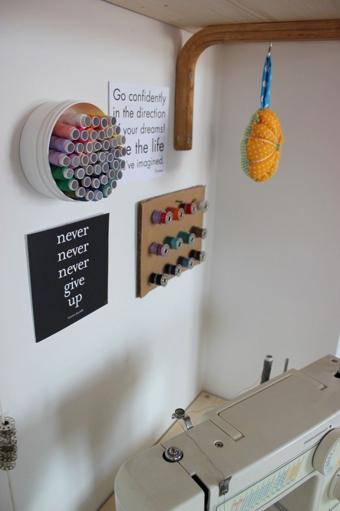 sewing station make over