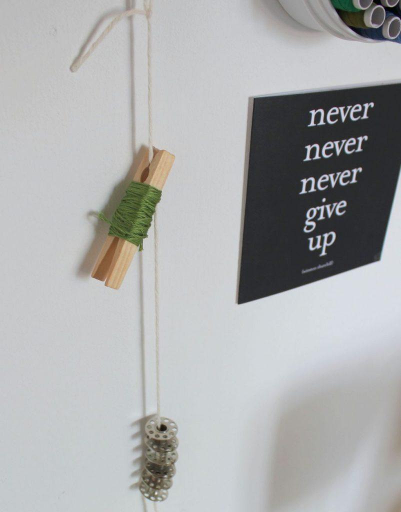 tip thread organizer