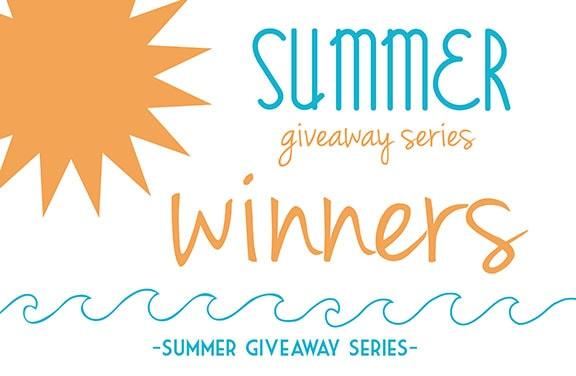 Summer Giveaway Series Winners