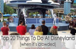 20 Things to Do at Disneyland When It's Packed: Updated for 2016 (she: Kimberly)