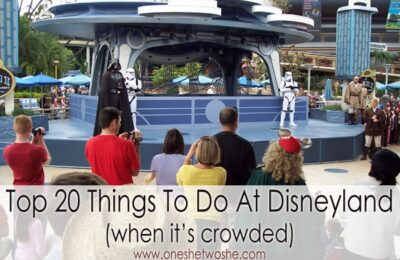 Top 20 Things to Do at Disneyland When it's Crowded: 2016