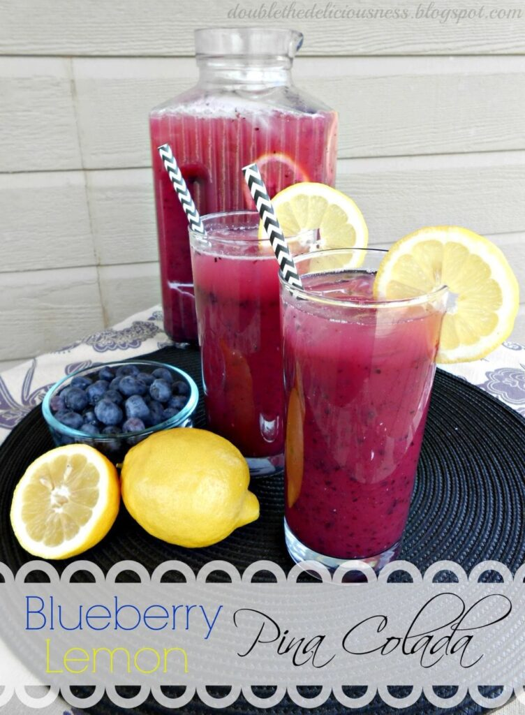blueberry lemon pina colada