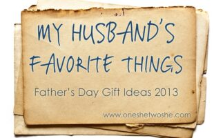 'My Husband's Favorite Things' ~ Father's Day Gift Ideas (she: Annalece)