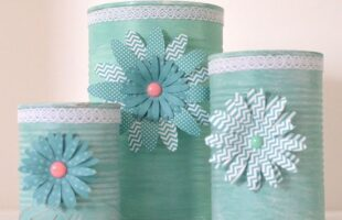 Upcycled Tin Can Craft (she: Jeanie)