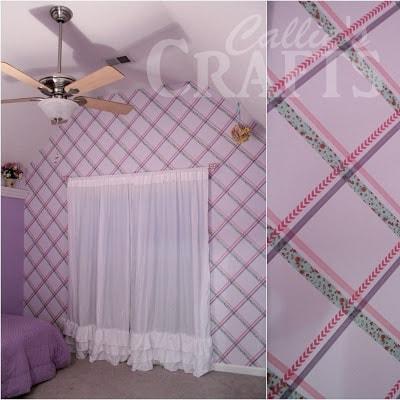 washi tape wall pattern1a